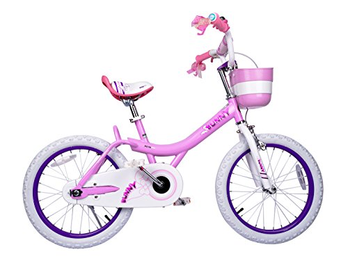 Bunny Girl's Bike Pink 12 inch Kid's bicycle