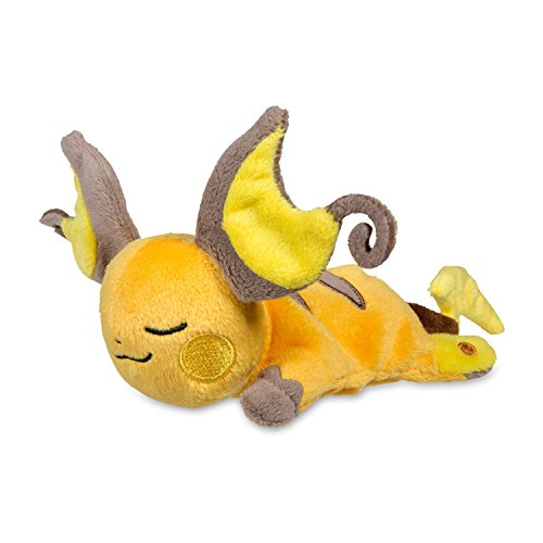 Pokemon Sleeping Raichu Kuttari Cutie Poké Plush