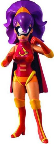 Futurama Toynami Series 6 Action Figure Leela as Clobberella -