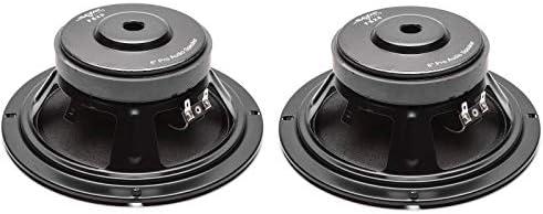 2 Skar Audio FSX8-8 350-Watt 8-Inch 8 Ohm MID-Range Loudspeakers 2 Speakers