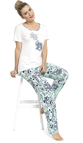 Tom Franks - Pijama - para mujer Verde