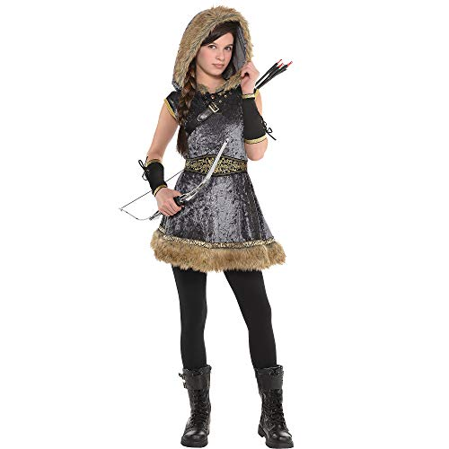 AMSCAN Miss Archer Halloween Costume for Girls, Extra Large, with Included Accessories]()