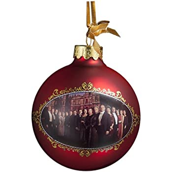 Amazon.com: Downton Abbey Castle Glass Ball Ornament, 80mm: Home ...