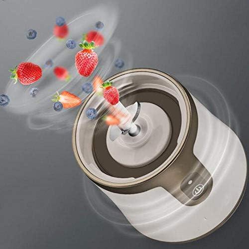 GUXJ Presse-Agrumes Multifonctionnel Fruit Portable Petit Chargement Mini Tasse de jus étudiant électrique frite centrifugeuse