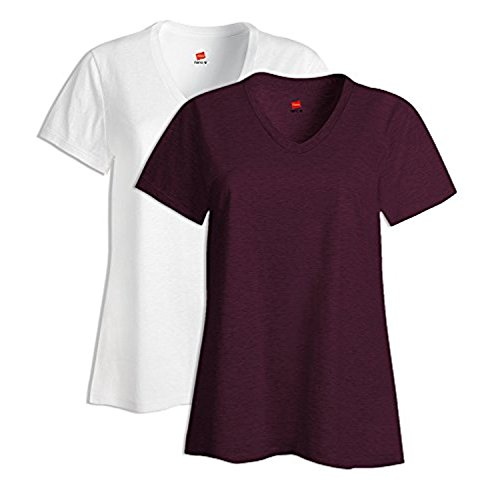 Cotone A S04v V Donna Large Da Con Bianco 1 Nano Corta T shirt Manica In Scollo YxFUUf