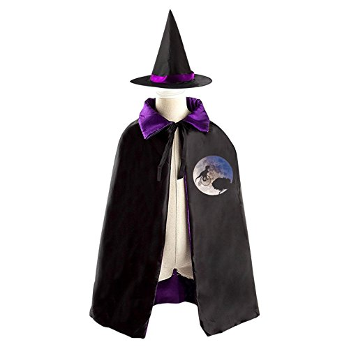 Halloween Costume Children Cloak Cape Wizard Hat Cosplay Dinosaur Bicycle Earth Planet For Kids Boys Girls