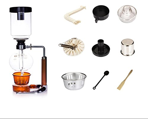 Vibola Siphon coffee maker Tea Siphon pot Coffeemaker