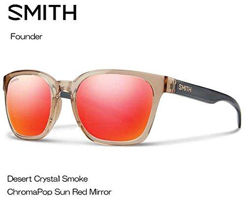 SMITH(スミス) Founder Deseat Crystal Smoke CP-SUN RED MIRROR 020440124 サングラス   B073RYH2QN
