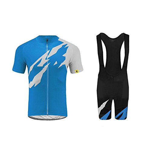 - Uglyfrog Mens Breathable Cycling Jersey 3D Padded Breathable Quick Dry G07