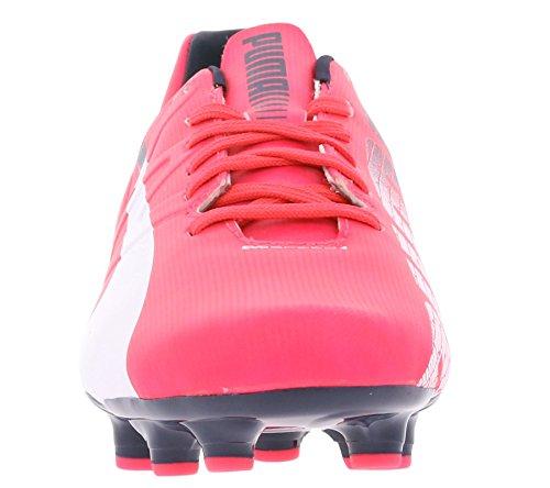 Puma Evospeed 4.3 Fg - Zapatillas de fútbol BRIGHT PLASMA-WHITE-