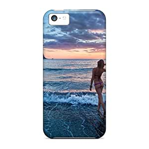 Htr12865OCLI Anti-scratch Cases Covers Oilpaintingcase88 Protective Sunset In Ibiza Cases For Iphone 5c