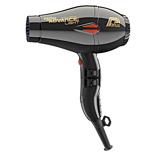 Parlux Advance Light - Secador de Pelo Ionico y Ceramico, color Negro