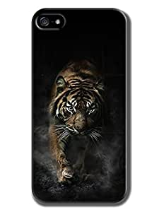 Everything Store DIY black tiger Phone Shell Hard Case Perfect For Iphone 6 With 5.5