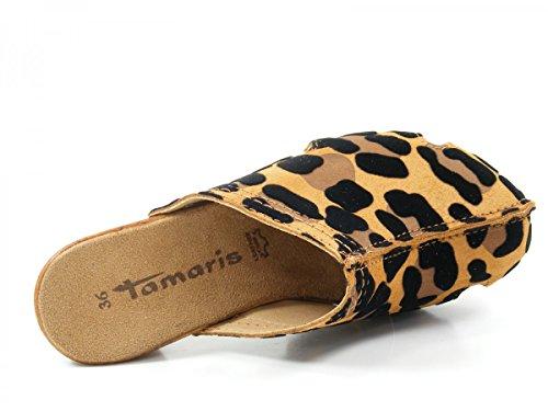 Tamaris 1-27301-36 Zapatillas de estar por casa para mujer - marrón