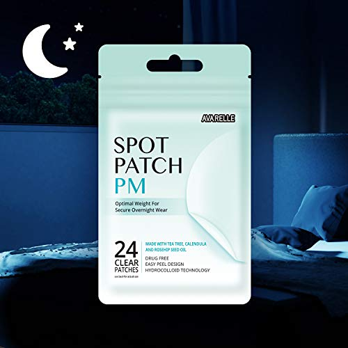 Acne Pimple Patch Absorbing Cover Blemish (PM Overnight / 24 PATCHES)