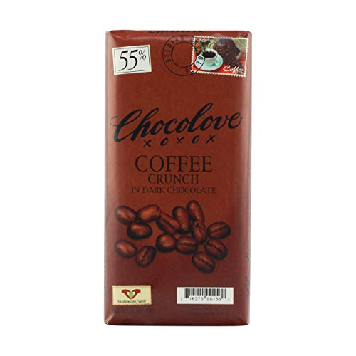 Chocolove - Dark Chocolate Bar Coffee Crunch - 3.2 oz.