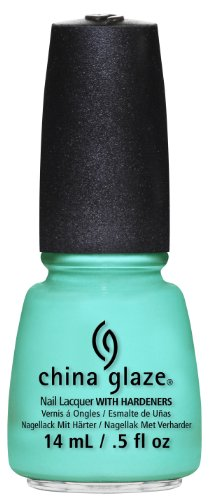(China Glaze Nail Lacquer, Too Yacht To Handle, 0.5 Fluid)