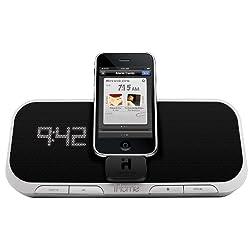 iHome iA5 App-Enhanced 30-Pin iPod/iPhone Alarm Clock Speaker Dock