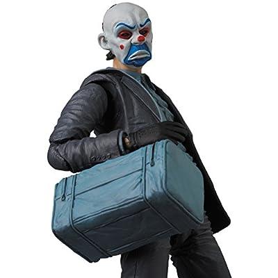 Medicom The Dark Knight: The Joker Maf Ex Action Figure (Bank Robber Version): Toys & Games