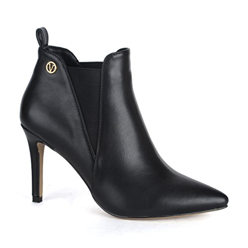 High Heel Slouch Ankle Boot - 6