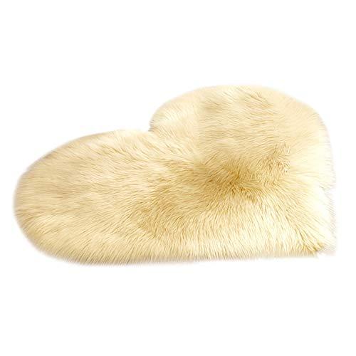 Wool Imitation Sheepskin Rugs Faux Fur Non Slip Bedroom Shaggy Carpet Living Room Mats tappeto cucina Round Rug alfombras,I