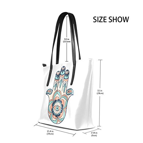 Women's Satchel Bennigiry Large Fatima Purse Bags Shoulder Tote Handle Top Handbags xPnwCn1q