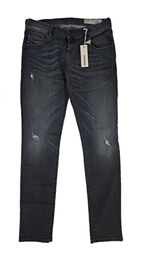 Diesel Womens Clothing - Diesel Women's Grupee Super-Slim-Skinny Low Waist Stretch ROZ51 31 x 30