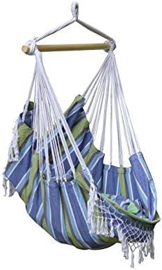 Vivere B524 - Sillón colgante de algodón, Oasis: Amazon.es ...