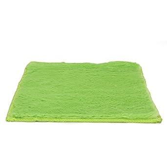LockerLookz Locker Rugs: Green Faux Fur Rug