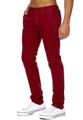 En Une Droite Hosen Avec Tissu Hommes H1736 Fit slim Arizonashopping Les Jean Vin Jambe Pantalons Élastique Rouge Chino Chinos Légers 1qCvqFnaw