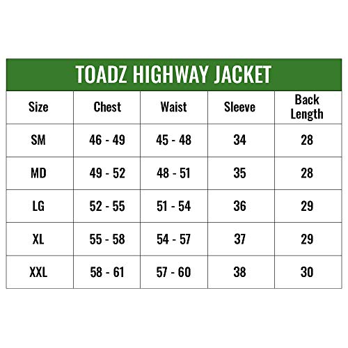 Frogg Toggs Toadz Highway Jacket Black, XX-Large