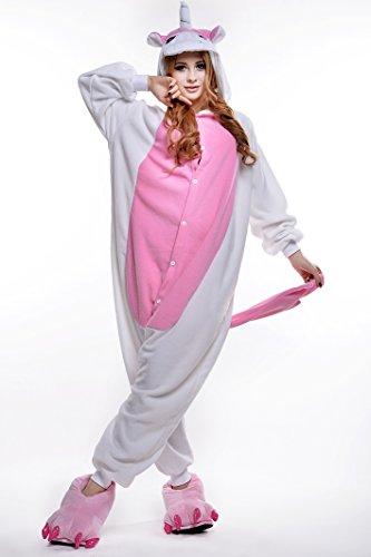 Sunrise Unisex Unicorn Onesie Costume Kigurumi Pajamas (Medium, Pink)