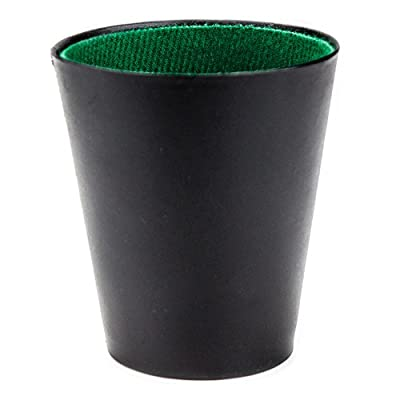 Brybelly Felt-Lined Dice Cup: Sports & Outdoors