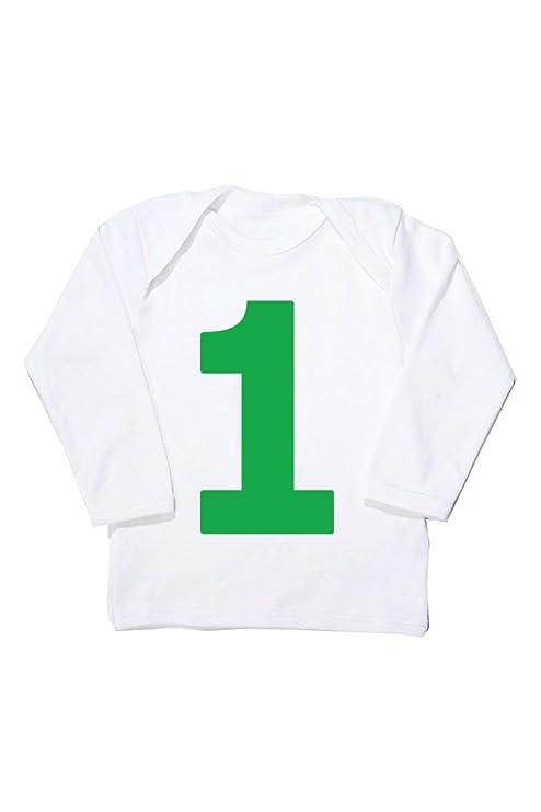 I Am 1 verde primer cumpleaños T Shirt | Cool bebé camisetas ...