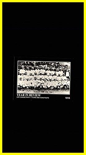 1992 Megacards Babe Ruth #8 Led League with 1.75 ERA Boston Red Sox