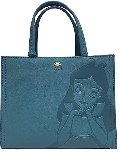 Loungefly Disney Alice In Wonderland Crossbody Purse Tote with Flower Charm