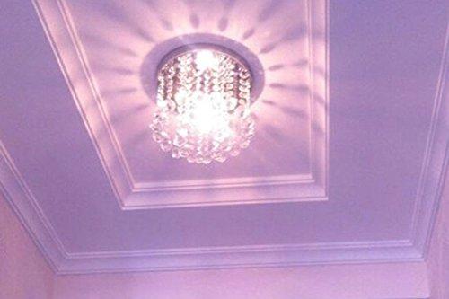 Surpars House Mini Style 1-Light Flush Mount Crystal Chandelier by Surpars House (Image #1)'