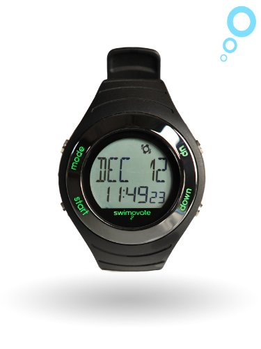 Swimovate Poolmate Live Lap Counter Swim Watch with Vibrating Alarm,...