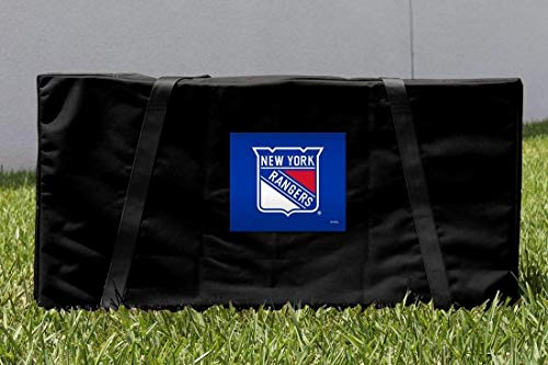 Victory Tailgate York Rangers NHL Regulation Cornhole Carrying Case