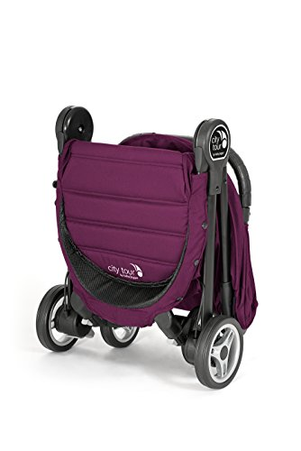 Baby Jogger City Tour Stroller | Compact Travel Stroller | Lightweight Baby Stroller with Backpack-Style Carry Bag, Perfect for Travel, Violet