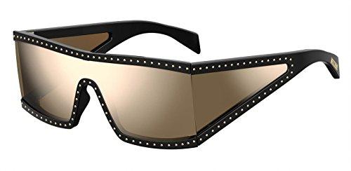 GOLD S unisex Sunglasses BLACK Moschino MOS004 q0WPtt