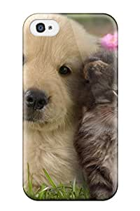 Hot 1742161K16501435 Premium Case With Scratch-resistant/ Cat And Dog Case Cover For Iphone 5C