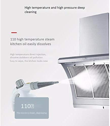 Nettoyeur Vapeur Multi-Usage portatif Pressurized Vapeur Cleaners avec Accessoires 9 pièces for détachage Tapis Rideaux Sièges d\'auto étage