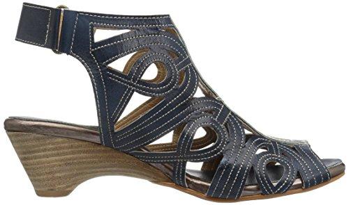 Lartiste Di Spring Step Womens Floursih-n Sandalo Vestito Blu
