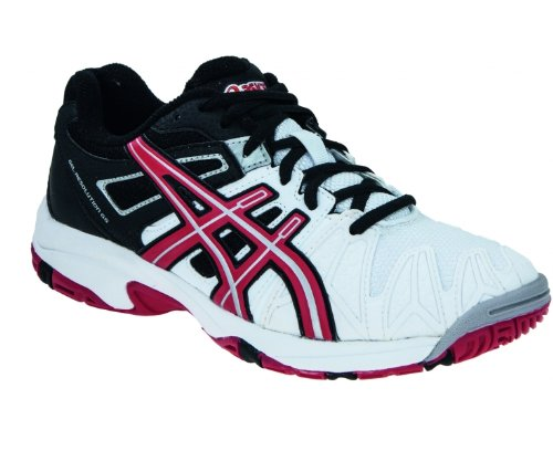 ASICS GEL-RESOLUTION 5 GS Junior Tennisschuh Schwarz