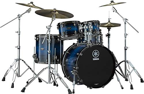 (Yamaha Live Custom Hybrid Oak 5-piece Shell Pack - Ice)