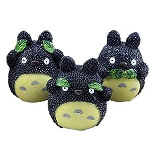3 p cs My Neighbor Totoro Figures Toy Miniature Micro Gnome Terrarium Resin Craft Gift