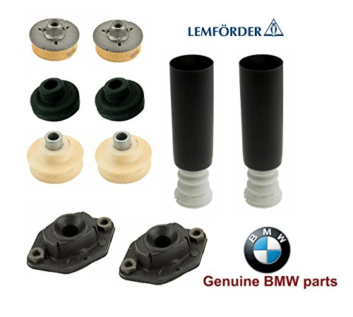 Rear Shock Mounts Bump Stops Dust Boots SET for BMW e92 e90 328xi 335xi 330xi ()