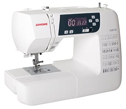 Janome 4250229845883 - Máquina de coser electrónica 2160dc