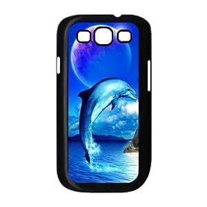 T-TGL(RQ) Samsung Galaxy S3 I9300 Custom Phone Case Dophin with Hard Shell Protection